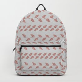 Mini Pink Palm Leaves Backpack