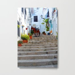 Frigiliana Andalusia Costa Del Sol Spain Metal Print