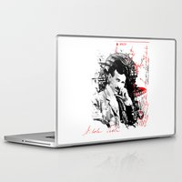 tesla Laptop & iPad Skins featuring Nikola Tesla by viva la revolucion