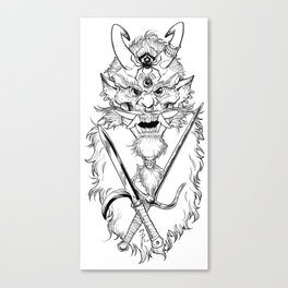 Killer Tengu Canvas Print