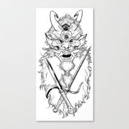 Killer Tengu Canvas Print