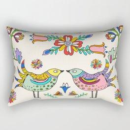 Papel Picado Birds Rectangular Pillow