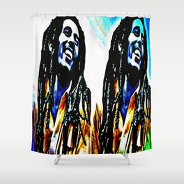Marley's colors Shower Curtain
