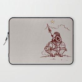 Nature Warriors: Battle Hedgehog Laptop Sleeve