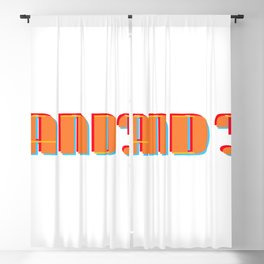 AND? Blackout Curtain