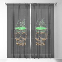 Black Magic Sheer Curtain