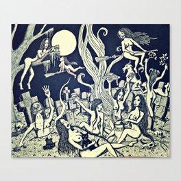 Witches' Sabbath Canvas Print