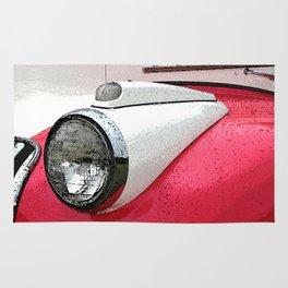 Classic Studebaker Truck Rug
