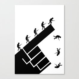 To the arms! Canvas Print
