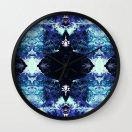 Nashira - Abstract Costellation Painting Wall Clock