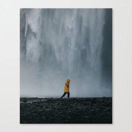 Skogafoss Canvas Print
