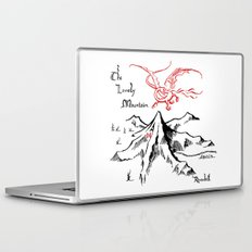 Smaug and The Lonely Mountain Laptop & iPad Skin