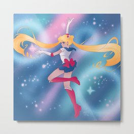 Sailor Moon Transformation Final Metal Print