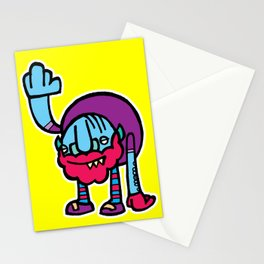 The Old Man in the Monster Stationery Cards
