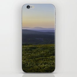 Midnight sun iPhone Skin