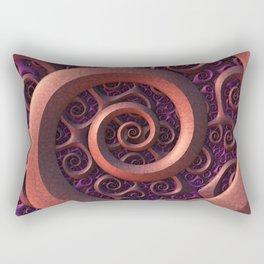 Spiral Mania Rectangular Pillow