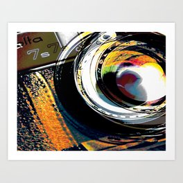 A Flash of Color Art Print