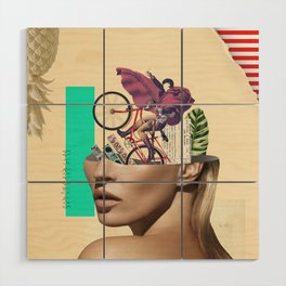 Kate Mozao no Corote Wood Wall Art