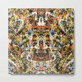 Reflecting Pollock 2 Metal Print