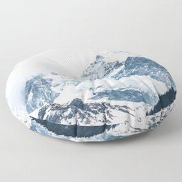 Mountains 2 Floor Pillow