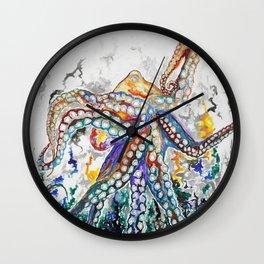 Achelois the Audacious Wall Clock