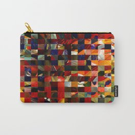 Colorful Collage Carry-All Pouch