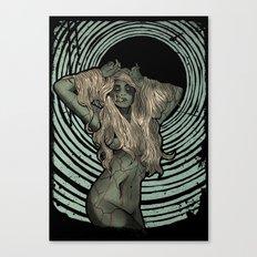 Zombie Siren Canvas Print