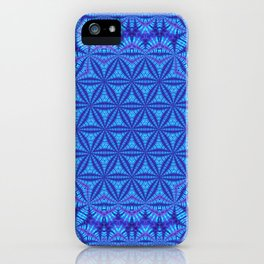 Vibrating Flower of Life iPhone Case