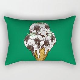 Ice Cream Soccer Balls Rectangular Pillow