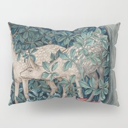 William Morris Forest Deer Pillow Sham