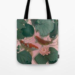 Carp Koi Tote Bag