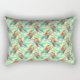 bee-eater pattern Rectangular Pillow