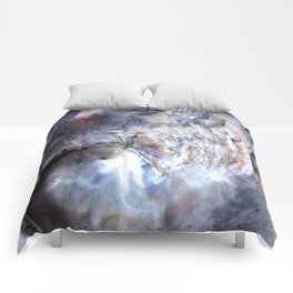 Shell Abstract Comforters