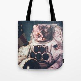 Beautiful cat astronaut Tote Bag