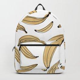 Watercolor bananas - beige Backpack