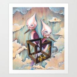 Bird | Purgatory Art Print