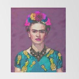 Trendy Frida Kahlo Throw Blanket