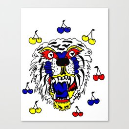 tiger luv Canvas Print