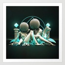 Disco Love Art Print