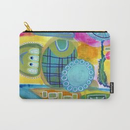 Stream of Consciousness Carry-All Pouch