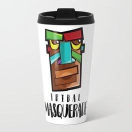 Tribal Masquerade Travel Mug