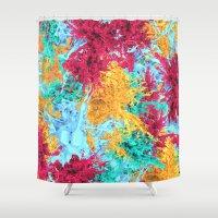 splash Shower Curtains featuring Splash! by Eleaxart