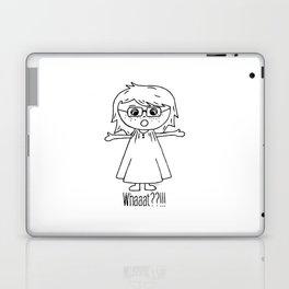 Surprised Harper Laptop & iPad Skin