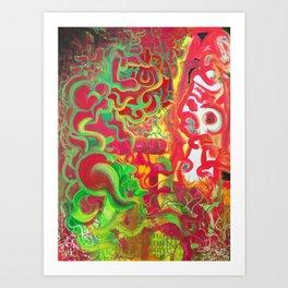 Elder Speak Art Print
