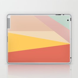 Retro Abstract Geometric Laptop & iPad Skin