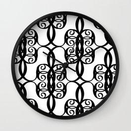 LETTERNS - C - Curlz MT Wall Clock