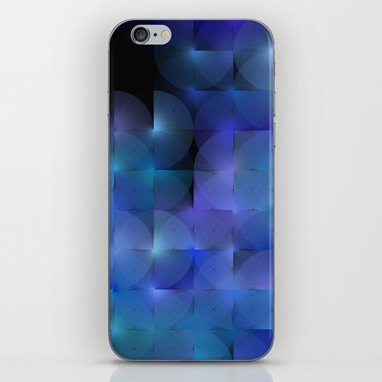 Written Circles #5 society6 custom generation iPhone & iPod Skin