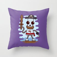 Pirate Ned Throw Pillow