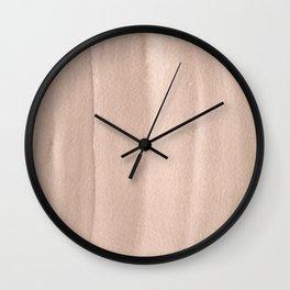 151208 13.Warm Sepia Wall Clock