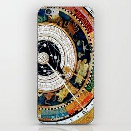 Zodiac Astronomical Clock Compass iPhone Skin